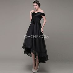 Compelling Off-shoulder Sleeveless A-line Ankle-length Bow-knot Formal Dress 2017 - OACHY The Boutique #knot, #sleeveless, #oachy, #shoulder, #length