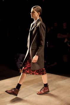 I heart that jacket!  from   Marc by Marc Jacobs Fall/Winter 2012