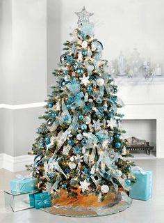blue teal turquoise christmas ideas christmas tree turquoise christmas and blue christmas - Small Blue Christmas Tree