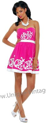 I absolutely love this dress! Perfect for a Phi Mu lady