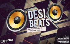 Hey Chennai! Get ready for a smashing Desi Beats Night tonight at Diff 42 Show off your jatka moves as we have Djs- VDJ Arwind and VDJ EASH behind the sizzling console spinning crazy mixes.   Nothing can make your Saturday night better.   For more info, contact: 044-43216667, 9842319191, 9842419191 #7, Opposite Vijaynagar Bus Terminus, Taramani Road, Velachery, Chennai  #Cocktail #Drinks #Dine #Party #Diff42 #RestoLoungeBar #Chennai #Desinight #Bollywoodnight