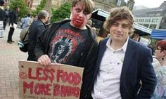 Jack Kirby, left, with Apprentice star Nick Holzherr, Co Founder of www.whisk.co.uk at the Zombie Walk fund-raising event to raise money for Birmingham Children's Hospital http://www.birminghammail.net/news/top-stories/2012/07/21/zombies-set-to-descend-on-brum-in-charity-event-for-sick-kids-97319-31440795/