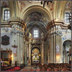 St Anna's Church, Krakow, Poland