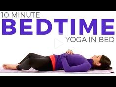 (82) 10 minute Bedtime Yoga IN BED | Relaxing Bedtime Yoga Routine - YouTube #yoga #meditation #morningyoga #morningyoga Bikram Yoga, Ashtanga Yoga, Vinyasa Yoga, Bedtime Workout, Bedtime Yoga, Prenatal Yoga, Restorative Yoga, Morning Yoga Stretches, Bedtime Stretches