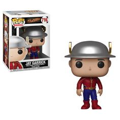 This is The Flash POP Jay Garrick Vinyl Figure that's produced by the neat folks over at Funko. This figure looks great in its POP form. Recommended Age: Condition: Brand New Dimensions: X 1 Funko The Flash POP Jay Garrick Vinyl Figure Pop Vinyl Figures, Funko Pop Figures, Kid Flash, Pop Marvel, Overwatch, Predator, Harley Quinn, O Joker, Flash Characters