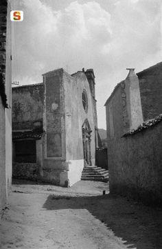 Antonio Ballero, Nuoro, la vecchia chiesa di N.S. delle Grazie, 1915