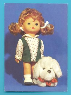 DOLL WITH DOG