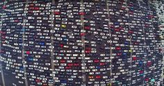 Your commute is nothing compared to this 50-lane gridlock in China | Inhabitat - Sustainable Design Innovation, Eco Architecture, Green Building