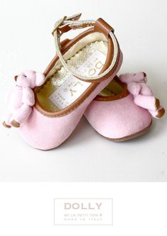 DOLLY by Le Petit Tom ® 7L LUCY 'Teddy Bears' pink