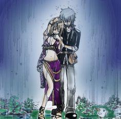 Rave Master Haru and Ellie sweet Fairy Tail, Rave Master, Random Stuff, Cartoons, Manga, Comics, Sweet, Anime, Random Things