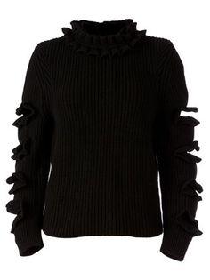 Christopher Kane Ruffle Detail Sweater - L'eclaireur - Farfetch.com