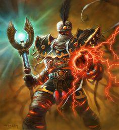 Arch-Thief Rafaam by Alex Horley World Of Warcraft, Warcraft Art, Fantasy Races, Fantasy Girl, Dark Fantasy, Wow Mage, Blizzard Warcraft, Hearthstone Game, Character Art