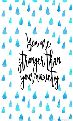 You are stronger than your anxiety overcome panic attacks and start taking your life back Improve your mental health and wellness with simple steps and learn what anxie. Deal With Anxiety, Anxiety Tips, Anxiety Help, Social Anxiety, Helping Someone With Anxiety, Anxiety Cat, Mental Health Matters, Mental Health Quotes, Health And Wellness Quotes