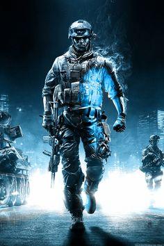 Battlefield 3 Action Game iPhone Wallpaper