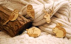 lush...got the deer brooch,want the whole collection!