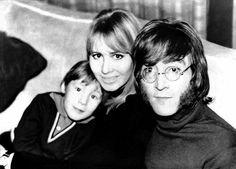 John, Cynthia and Julian Lennon