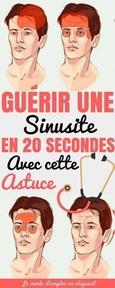 GUÉRIR UNE SINUSITE EN 20 SECONDES AVEC CETTE ASTUCE Good To Know, Feel Good, Infection Des Sinus, Accupuncture, Science Facts, Sports Nutrition, Healthy Nutrition, Health Motivation, Virus