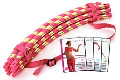 Yes. I'm supposed to be working on a paper for #gradschool Yes. I just bought this lovely set online instead, and lucked out because it is #onsale #procrastinationpaysoff http://hoopnotica.com/collections/travel-hoops/products/quad-pack-pink-travel-hoop