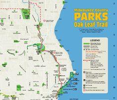 map #OakLeafTrail