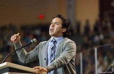 Rev. Samuel Rodriguez, the president of the National Hispanic Christian Leadership Conference, spoke in convocation on March 21, 2012.