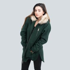 Snow Parka (Green)