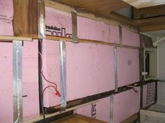 How to install better insulation in your camper or RV and improve the insulation factor. With better insulation your RV will be cooler in summer and warmer in winter. Old Campers, Retro Campers, Vintage Campers, Vw Camping, Glamping, Camping Tips, Camper Repair, Vw Lt, Tiny Camper