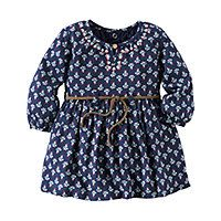 Carter's® 2-pc. Embroidered Dress - Baby Girls newborn-24m - Carter's® 2-pc. Embroidered Dress - Baby Girls newborn-24m