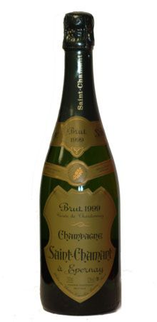 Champagne Saint-Chamant 1999 Millésimé Brut Blanc de Blancs Generous notes of white fruits, biscuit and chalky minerals dominate the flavor, finishing with a vibrant finesse. Rating: 15.5/20 Price: $80