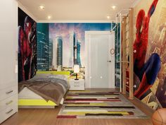 Exciting Boy Room Ideas