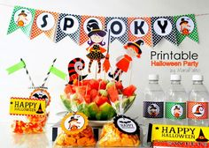 PRINTABLE HALLOWEEN CANDY WRAPPERS by MariaPalito