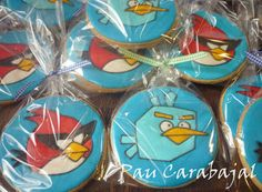Angry Birds Space Cookies