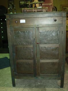 Old pie safe