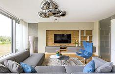 94c707b6163f Do obývacího pokoje si manželé Logarovi vybrali pohovku Match od výrobce  nábytku Prostoria v provedení XL
