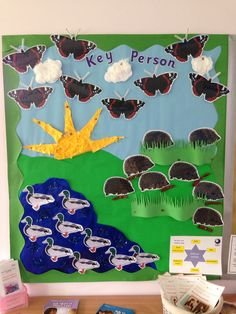 Key person display eyfs