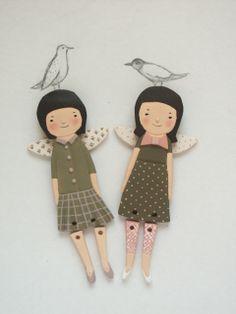 doll, ceramics, decor