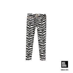 Calça zebra!! Compre pelo www.missdonna.com.br