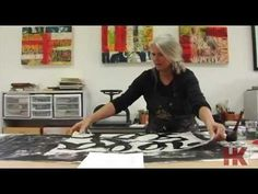 I really enjoyed this - very artsy and soothing :) Love her work!  Laura Wait - Painter  Bookmaker - YouTube