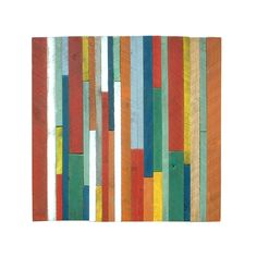 Nature lovers crave a good dose of color and pattern play, too. Enter this Reclaimed Wood Art Sculpture. Made from reclaimed barn pine and cedar boards painted in distressed colors, the abstract piece ...  Find the Reclaimed Wood Art Sculpture, as seen in the Décor Collection at http://dotandbo.com/category/decor-and-pillows/for-the-wall/decor?utm_source=pinterest&utm_medium=organic&db_sku=WNA0006