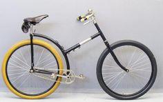 Capitaine Gerrard ca. 1898 Detachable Bicycle