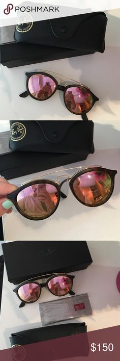 b67d297255 Ray Ban Gatsby Gold Reflective Sunglasses BRANDNEW Never worn. Just have  too many sunnies! Comes with box