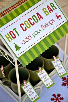 Cookies and Cocoa Party Christmas/Holiday Party Ideas | Photo 16 of 31 | Catch My Party