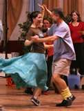 An evening of contra dances
