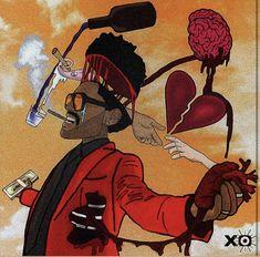 Rap Art, The Weeknd Memes, The Weeknd Wallpaper Iphone, Starboy The Weeknd, The Weeknd Albums, The Weeknd Poster, Abel The Weeknd, Music Museum, Graffiti