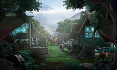 #sciencefiction #sf #scifi #nature #art #gameart #madheadgames #game #gaming #gamedevelopmentart  #space