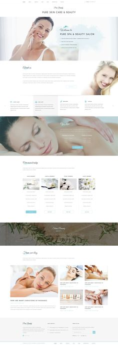Pure - Spa and Beauty PSD Template - PSD Templates | Download http://themeforest.net/item/pure-spa-and-beauty-psd-template/14911588?ref=sinzo