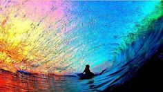 Awesome Rainbow Sea