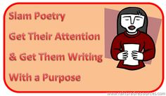 Slam – Poetry with Passion  A few possible resources to use for a poetry unit...