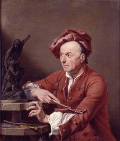 Louis François Roubiliac, Andrea Soldi, 1751; huile sur toile; Londres, Dulwich Picture Gallery.