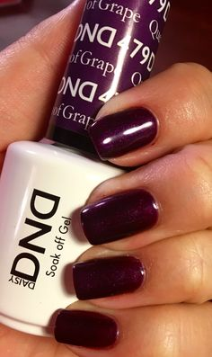 Queen of Grape gel polish by Daisy DND