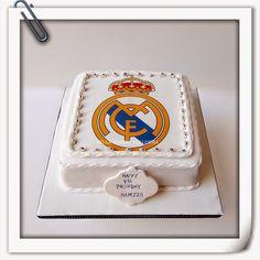 REAL MADRID FOOTBALL CLUB CAKE